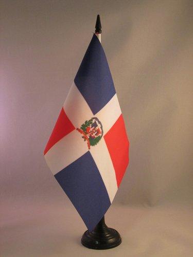 AZ FLAG Bandera de Mesa de la REPÚBLICA Dominicana 21x14cm ...