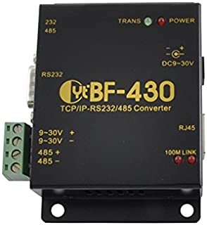 Industrial Serial RS232 Ethernet & RS485 Converter - BF-430