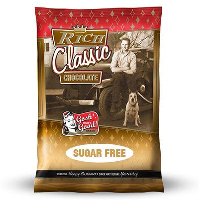 Sugar Free Rich Classic Chocolate 2 lb. Bag - By Gosh That's Good! Brand