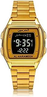 ساعة الحرمين الرسمية باللون الذهبي HA-6461FGB