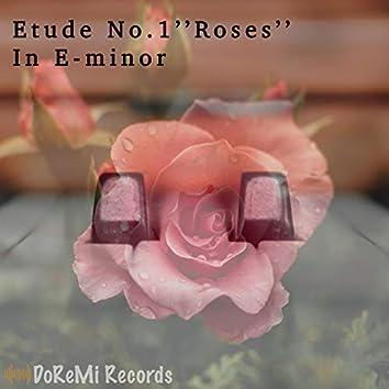 Piano Etude No. 1 'Roses' in E-Minor Moderato Afflitto