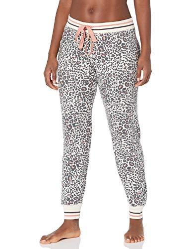 PJ Salvage Women's Loungewear Thermal Lounge Jammie Pant, Stone, XS