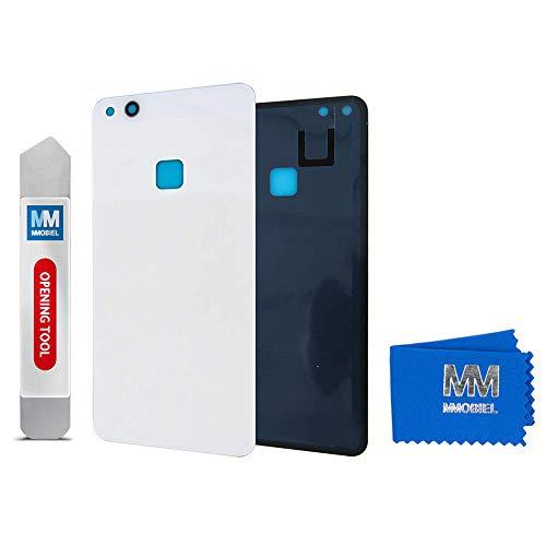 MMOBIEL Coperchio Batteria Compatibile con Huawei P10 Lite 2017 5.2 Pollici (Pearl Bianco)