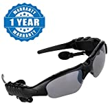 Drumstone Wireless Sunglasses with Bluetooth V-3.0 Headset,Stereo Sound Headphones with Polarized Lenses Unisex