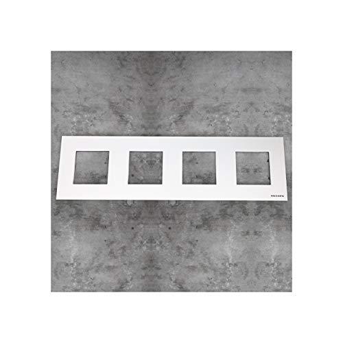 Niessen - n2274.1bl marco basico 4 ventanas zenit blanco Ref. 6522005244