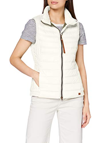 camel active Womenswear Damen 3606004R4801 Jacke, White, 42