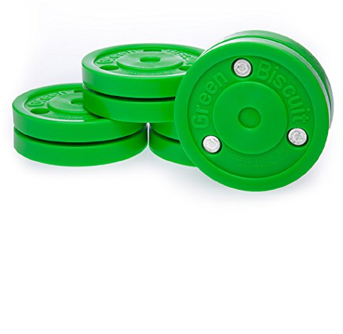 Off-ice training puck Green biscuit
