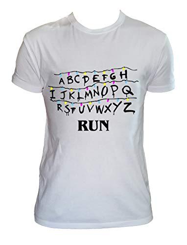 Desconocido Camiseta Eleven Hombre Niño Alfabeto Mundos del