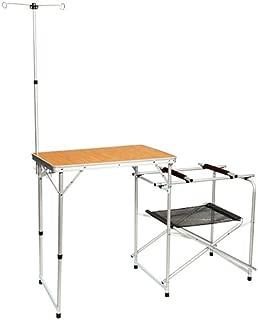 クイックキャンプ アウトドア キッチンテーブル 折りたたみ キャンプ用 キッチン キャンプ テーブル 調理台 QC-KT70