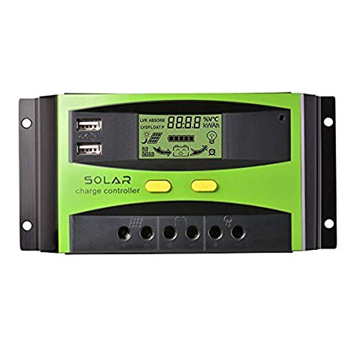 Regulador Solar 20A 12v/24v Autoswitch Charge Controller 20Amp LCD