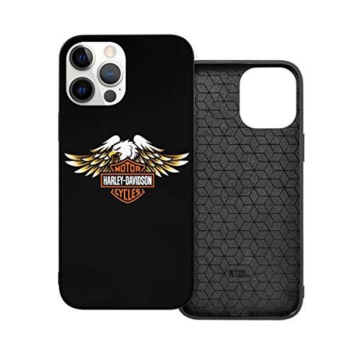 N / A Harley Davidson Handyh¨¹lle iPhone 12 PC Materiale Unisex per proteggere la persistenza del telefono resistente alla polvere Iphone12 Pro-6.1