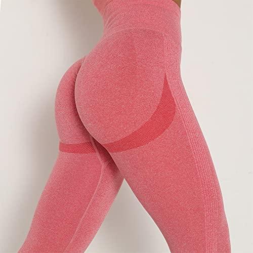 ShFhhwrl Mujer Leggins Pantalones De Yoga Sexis Tejidos Sin Costuras Levantamiento De Glúteos Mujer Sexy Gimnasio Deporte Sudor Entrenamiento Correr Cintura Al