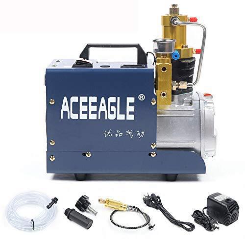 Bomba de aire de alta presión eléctrica PCP, 300 bar, 4500 psi, alta presión, compresor neumático, compresor de aire, bomba de alta presión, bomba automática