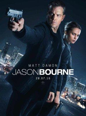 Jason Bourne - Matt Damon - U.S Movie Wall Poster Print - 43cm x 61cm / 17 Inches x 24 Inches A2