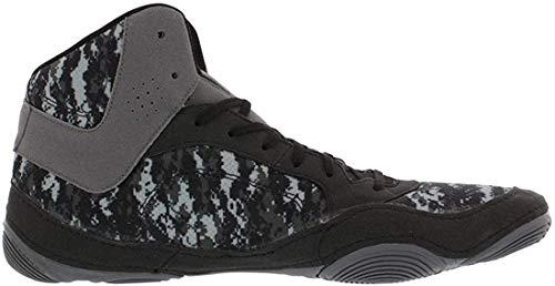 ASICS Snap Down 2 Wrestling Shoes, Digital Camo/Black/Carbon, Size 10.5