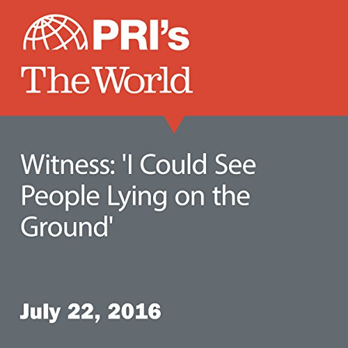 Witness: 'I Could See People Lying on the Ground' cover art