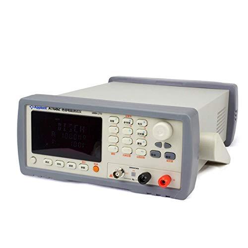 LIPENLI Instrumento industrial de alta resistencia Medidor digital de resistencia de aislamiento AT682 probador puede lectura directa de la resistencia y corriente de alta precisión