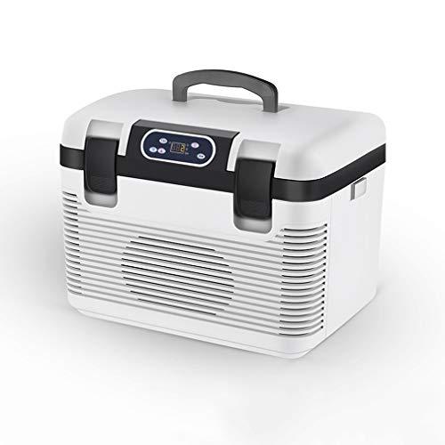 XBRMMM 19 L Auto Kühlschrank Gefrierschrank Heizung DC12-24V / AC220V Kühlschrank Kompressor Für Auto Home Picknick Kühlheizung -5~65 Grad, Mini-Kühlschrank, Für Auto Und Camping