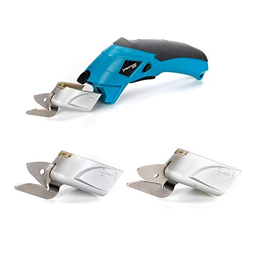 Read About Rechargeable Portable Electric Scissor Auto Cutter Cordless Tailors Scissors for Cutting Garment Fabric