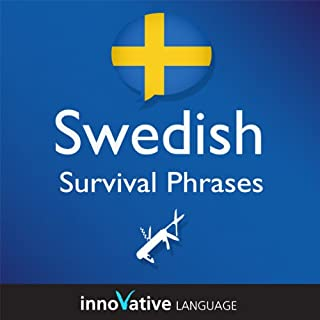 Learn Swedish - Survival Phrases Swedish, Volume 1: Lessons 1-30 cover art