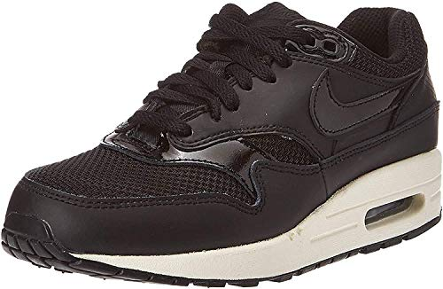 Nike Wmns Air Max 1, Scarpe da Fitness Donna, Multicolore (Black/Black/Black/Summit White 039), 36.5 EU