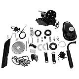Viadha 80cc 26/28 Inch Bike Engine Kit, Bicycle Motorized 2 Stroke Petrol Gas Motor Engine Kit Set