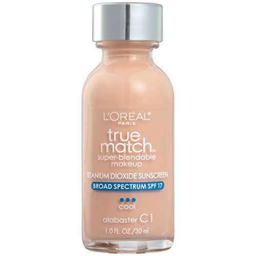 L'Oreal Paris True Match Super Blendable Makeup, Alabaster, 1.0 Ounces by L'Oreal Paris