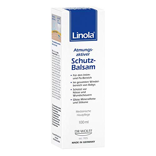 Linola Schutz-Balsam, 1 x 100 ml - Effektiver Schutz vor Scheuern und Wundwerden