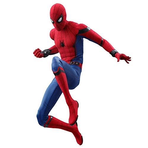WAHE Anime Statue Back to School Season Heroes Expedition HC Spiderman Hand Model Movable Cloak Doll Figure Specifications 1/6 29.5cm