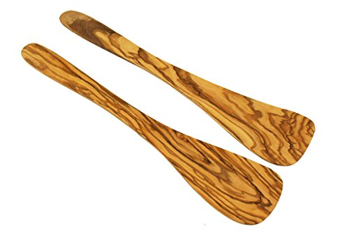 D.O.M. 2 spatulas made of olive wood 30cm