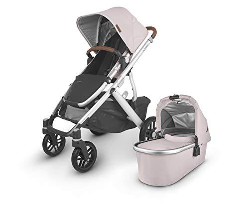 Vista V2 Stroller - Alice (Dusty Pink/Silver/Saddle Leather)