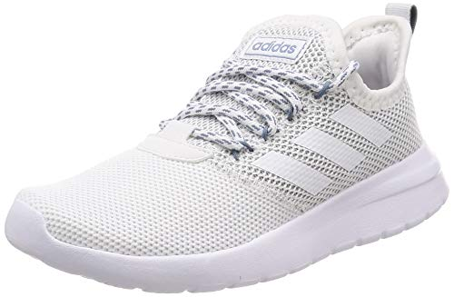adidas Damen LITE Racer RBN Fitnessschuhe, Weiß (Ftwbla/Ftwbla/Grinat 000), 40 2/3 EU