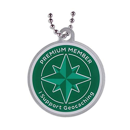 geo-versand Premium Member Collection: Travel Tag Trackable Tag Geocaching Travelbug Geocoin