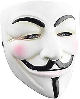 RASTPOAL Halloween Masks V for Vendetta Mask, Anonymous/Guy Fawkes for 2018 Halloween Costume