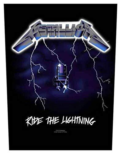 Metallica Ride The Lightning, toppa per la schiena