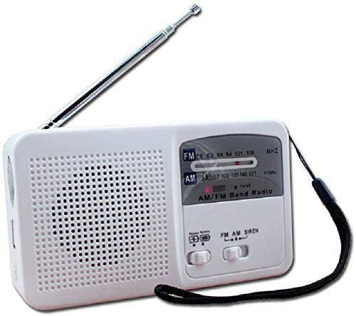 HOODIE LED Camping Zaklamp Radio 3-Way Aangedreven Oplaadbare LED Camping Lantaarn & Noodgeval AM/FM Radio Weer Alert Radio Hand Crank Zelf Aangedreven Radio