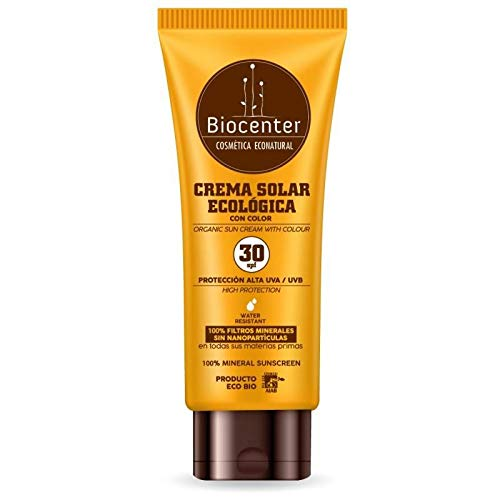 Protector solar con color SPF 30 Biocenter 175 ml