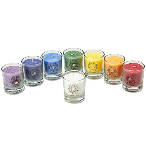 Palm Light CHAKRA Set, 8 Stck. (Set), 8 Farben, Gemischt, 30400-1