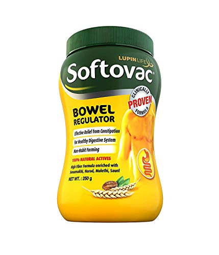 Spacetouch Softovac - Regolatore intestinale da 100 GMS confezione da 8