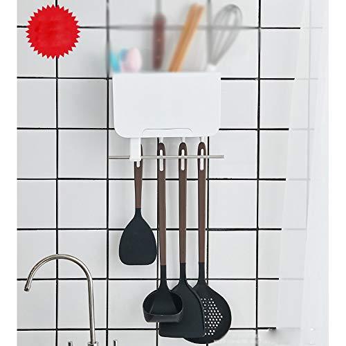 YUTRD ZCJUX Herramientas de Silicona de Cocina Conjunto de Herramientas Conjunto Utensilios de la espátula Pala Sopa Cuchara con Mango de diseño Especial Resistente al Calor de cocción (Size : C)