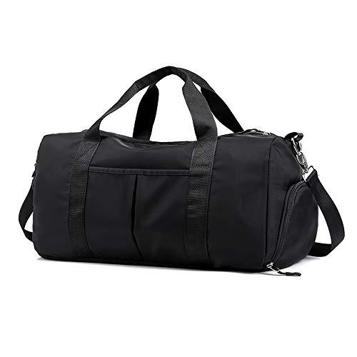 COTEetCI Sports Gym Bags Women Training Fitness Travel Handbag Nylon Yoga Mat Sport Bag with Shoes Compartment
