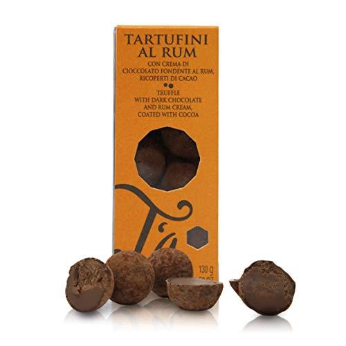 Tartufini al Rum, con Crema di Cioccolato Fondente,...