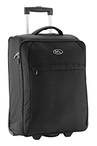 Cabin Max Palma - maleta plegable - tamaño de la cabina se pliega para su almacenamiento (Negro)