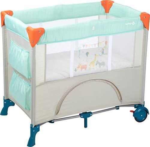 Safety 1st Mini Dreams Lit parapluie Bébé, lit de voyage bébé, De la naissance à 9 mois, Happy Day