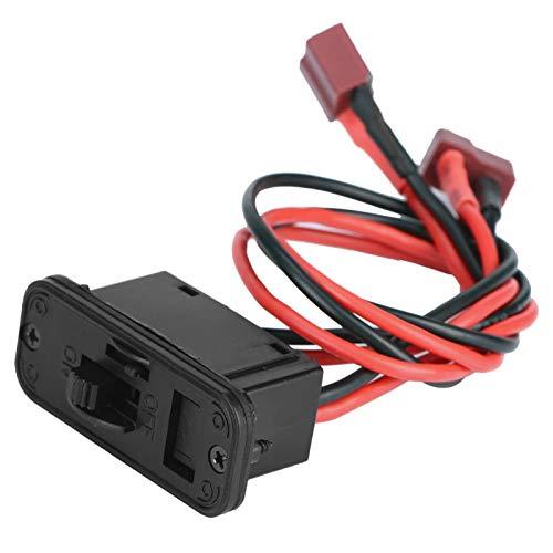 N#A Interruptor de Encendido Interruptor RC de pequeña Resistencia de 6-12 V, Interruptor de Modelo de avión RC, Hogar para Modelo de Motor de Gasolina de avión