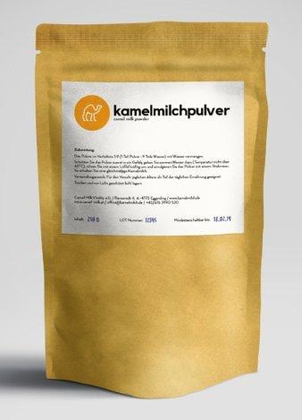 NO LOCKDOWN AT CAMEL MILK VITALITY - 350gr Original Kamelmilch Pulver (aus Dubai) - BESTPREISGARANTIE - Trinkkur - Camel Milk Powder