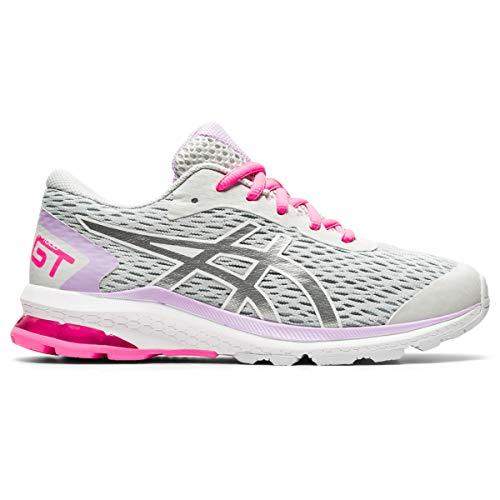 ASICS Gt-1000 9 GS, Sneaker, Glacier Grey/Pure Silver, 36 EU