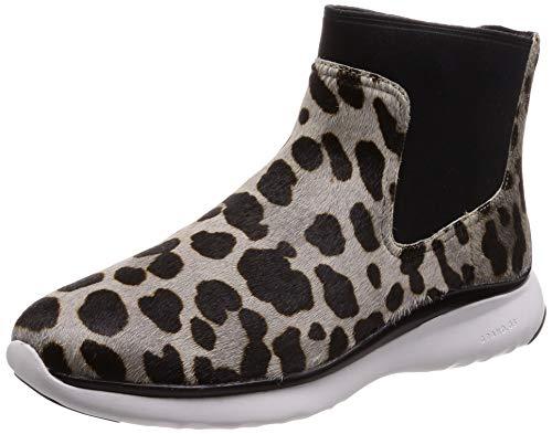 [コールハーン] ブーツ 【公式】 3.ゼログランド チェルシー ウォータープルーフ オセロット ヘアカーフ/ブラック/ホワイト 23.5 cm