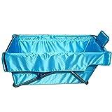 ZHYXJ-Bathtub BañEra Plegable para Adultos-Tina De InmersióN PortáTil Aislamiento Grueso Azul Viaje SPA Tela Impermeable 89x44x52cm