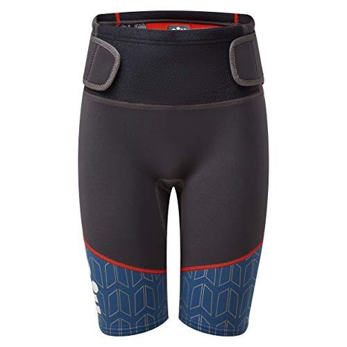 Gill Junior Zenlite 2mm Flatlock neopreen Wetsuit Shorts - Graphite - Thermal Warm hittelaag Lagen - Unisex